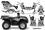 Can-Am Outlander 400 2009-2014 ATV Quad Graphic Kit