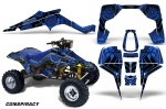 Suzuki LT 500 R - Quadzilla ATV Quad Graphic Kit (1987-1990)