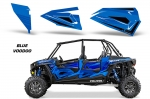 Polaris RZR 1000 Lower Half Door Graphic Wrap Kit - 4 Door
