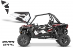 Polaris RZR 1000 Lower Half Door Graphic Wrap Kit - 2 Door