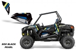 Polaris RZR 900S/XC Lower Half Door Insert Graphic Wrap Kit - 2 Door