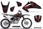 Honda CRF150F-230F Motocross Graphic Kit 2003-2007 (all designs available)