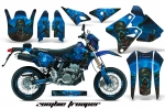 Suzuki DRZ 400 S/SM (Metal Tank) Dirt Bikes Graphic Kit 2000-2015