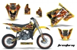 Suzuki RM 85 Dirt Bikes Graphic Kit 2002-2015