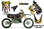 Suzuki RM 125 Dirt Bikes Graphic Kit 1996-1998