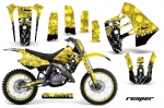 Suzuki RM 125 1992 RM 250 1989-1992 Dirt Bikes Graphic Kit