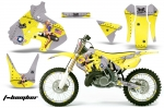 Suzuki RM 250 Dirt Bikes Graphic Kit 1999-2000