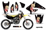 Suzuki RMZ 250 Dirt Bikes Graphic Kit 2004-2006