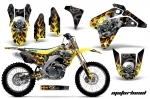 Suzuki RMZ 450 Dirt Bikes Graphic Kit 2005-2006