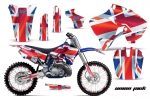 Yamaha YZ125 YZ250 2 Stroke Motocross Graphic Kit - 1996-2001