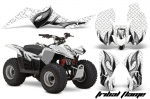 Suzuki LTZ 50 ATV Quad Graphic Kit 2006-2009