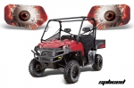 Head Light Eye Graphics for Polaris Ranger 2009-2012, 7 Designs to Choose! - FREE SHIPPING