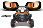 Head Light Eye Graphics for Polaris RZR 800/900, 7 Designs to Choose! - FREE SHIPPING