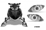 Head Light Eye Graphics for Arctic Cat Firecat, Many Designs to Choose! - FREE SHIPPING