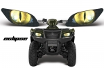 Head Light Eye Graphics for Suzuki King Quad, 7 Designs to Choose! - FREE SHIPPING