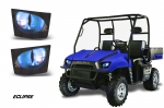 Head Light Eye Graphics for Polaris Ranger 500-700 2005-2009 (Check Available Models in Description)
