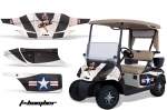 EZGO Golf Cart Graphic Kit 1996-2010 (many designs to choose from)