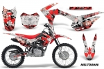 Honda CRF125 F Motocross Graphic Kit 2014-2016