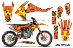 KTM SX-F/XC-F 250/350/450 Dirt Bike Graphic Kit 2016