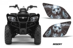 Head Light Eye Graphics for Suzuki Ozark 250 Quad - FREE SHIPPING