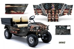 EZGO Workhorse Golf Cart Graphic Kit 1996-2003 (many designs to choose from)