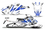 Polaris Axys Pro RMK/SKS Sled Snowmobile Graphics Decal Kit 2015-2016