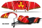 Graphic Kit Decal Wrap For the Ultimate Slingshot Trailer For Polaris Slingshot