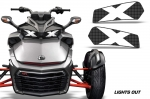 Head Light Eye Graphics for Can-Am Spyder F3 Roadster 2015+