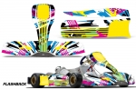 Tony Kart M6 - Kart Graphic Decal Kit (Through 2015)