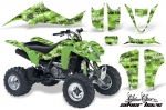 Kawasaki KFX 400 ATV Quad Graphic Kit - (2003-2008)
