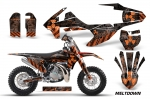 KTM SX50 Adventurer,Jr,Sr Motocross Graphic Kit 2016