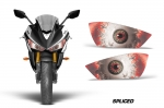 Head Light Eye Graphics for 2015 Yamaha R3, Many Designs to Choose from!