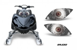 Head Light Eye Graphics for Arctic Cat M Series, Many Designs to Choose! - FREE SHIPPING