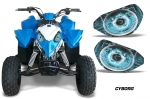 Head Light Eye Graphics for Polaris Outlaw 90 - FREE SHIPPING