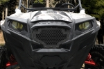 Custom Satin Black Stainless Steel Grilles for Polaris RZR 800/900