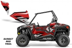 Polaris RZR 900 Trail Lower Door Inserts Graphic Kit - 2015+