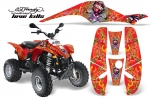 Polaris Scrambler, Trailblazer 1985-2009 ATV Quad Graphic Kit