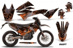 KTM Adventurer 690 Enduro/Enduro R Bike Graphic Decal Kit - 2012-2016