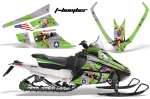 Arctic Cat F Z1 Series Sled Snowmobile Wrap Graphic Kit