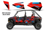 Polaris RZR 900S Lower Half Door Graphic Wrap Kit - 4 Door