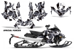 Ski Doo GEN 4 MXZ/Renegade/Summit 850 Sled Snowmobile Graphics Wrap Kit 2017+