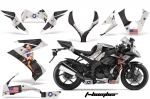Kawasaki ZX10 Ninja Sport Bike Graphic Kit (2008-2009)