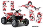 Honda TRX 250R Fourtrax ATV Quad Graphic Kit 1986-1989