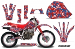 Honda XR600R Motocross Graphic Kit 1991-2000