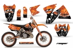 KTM C2 Graphic Kit 1998-2001 SX,MXC,EXC 125-520