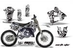 Yamaha YZ250 2 Stroke Motocross Graphic Kit - 1991-1992