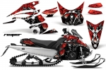 Yamaha FX Nytro Sled Snowmobile Graphics Decal Kit 2008-2014