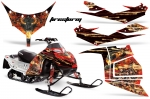 Polaris IQ Race 600 Sled Snowmobile Graphics Decal Kit