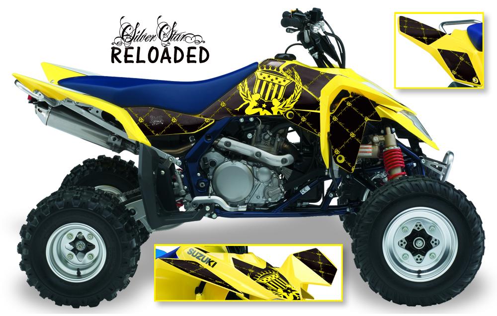 Amr Graphics Suzuki Ltr 450 Quad Lt R450 Sticker Kit Sk