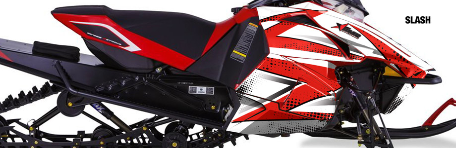 AMR Snowmobile Graphics